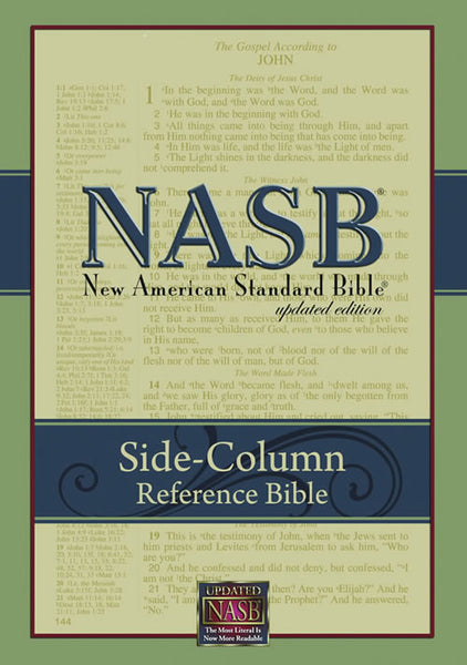 NASB Side-Column Reference Wide Margin (Damaged)
