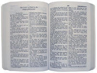 NAS New Testament with Psalms and Proverbs (Damaged)