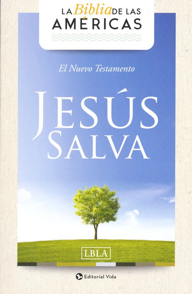 LBLA Jesus Salva New Testament (Full Case of 50)