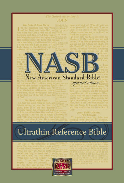 NASB Ultrathin Reference Bible (Damaged)