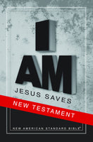 NAS Jesus Saves New Testament (Full Case of 40)