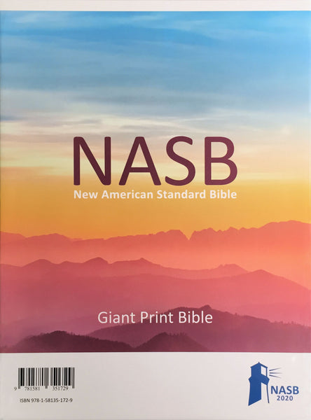 NASB 2020 Giant Print Text Bible