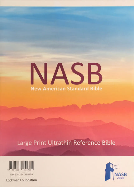 NASB 2020 Large Print Ultrathin Reference Bible