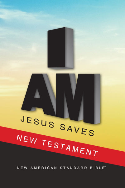 NAS 2020 Jesus Saves New Testament (Full Case of 40)