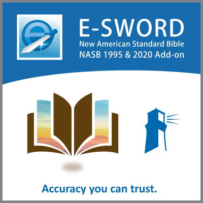e-Sword New American Standard Bible Study Set, NASB 2020 text