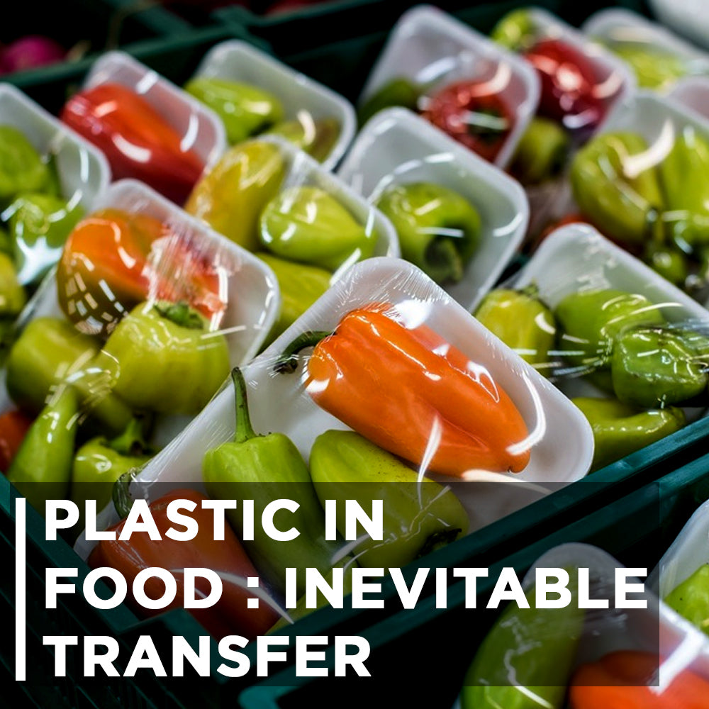 PLASTIC IN FOOD : INEVITABLE TRANSFER