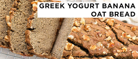 Greek yougurt banana bread recipe by Allo