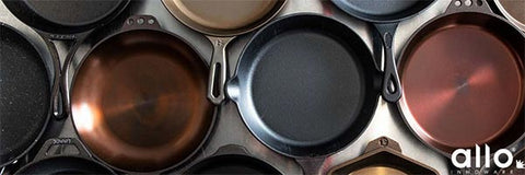 Brass and iron pots and pans for day to day use