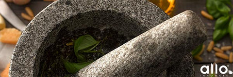Mortar and pestle for day to day use, stone mortar pestle