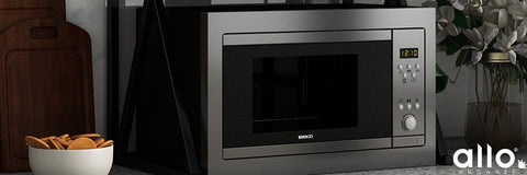 Microwave for baking, black microwave for kitchen