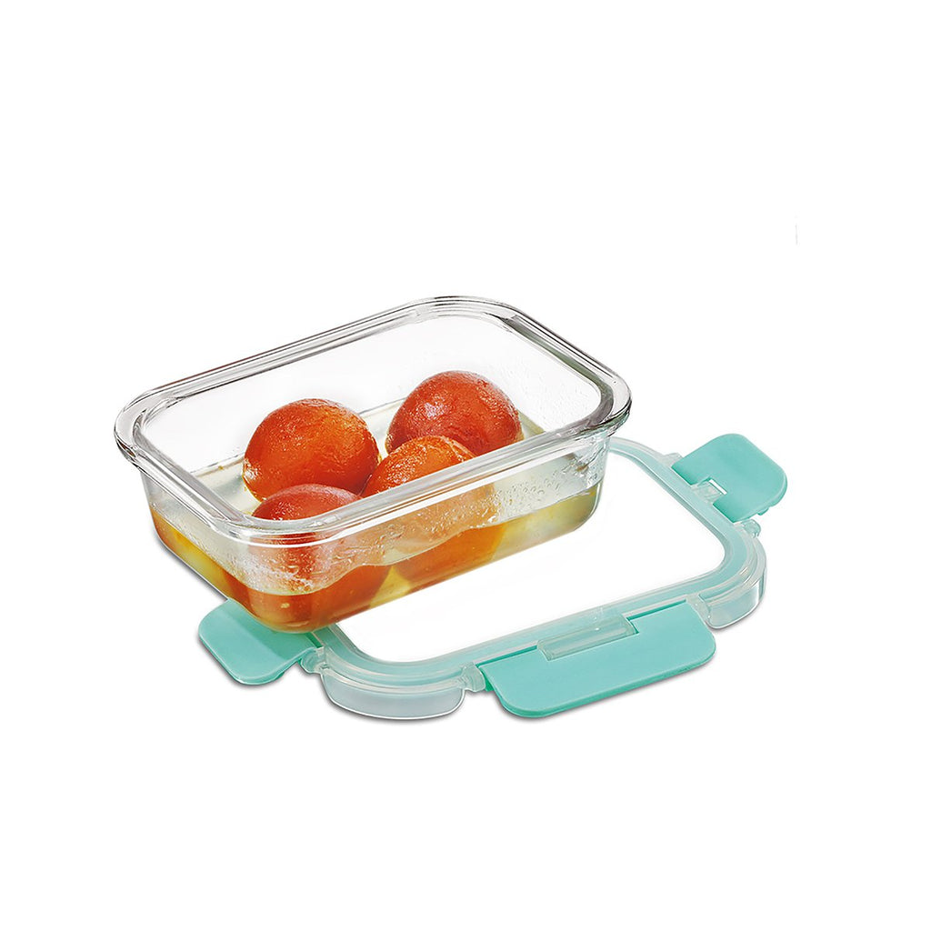 Allo foodsafe Borosilicate Microwave glass container set of 370ml  for healthier lifestyle and kitchen storage.