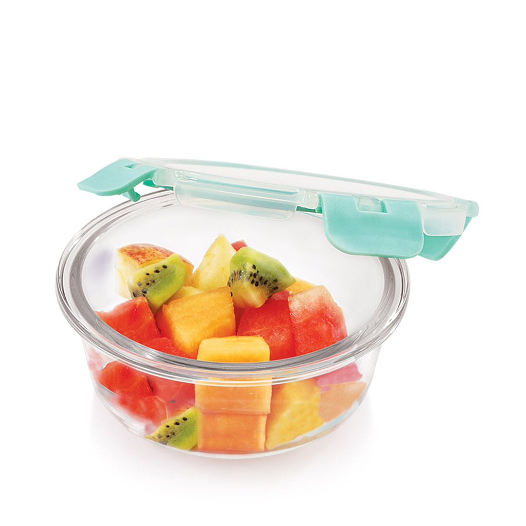 Borosilicate Microwave glass bowl 390 ml, for healthier lifestyle and kitchen storage.