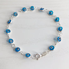 Load image into Gallery viewer, Baby Blue Classic Eyes Bracelet