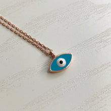 Load image into Gallery viewer, Mini Mati Necklace in Rose Gold