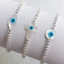 Load image into Gallery viewer, Lucky Evil Eye Charm Bracelet