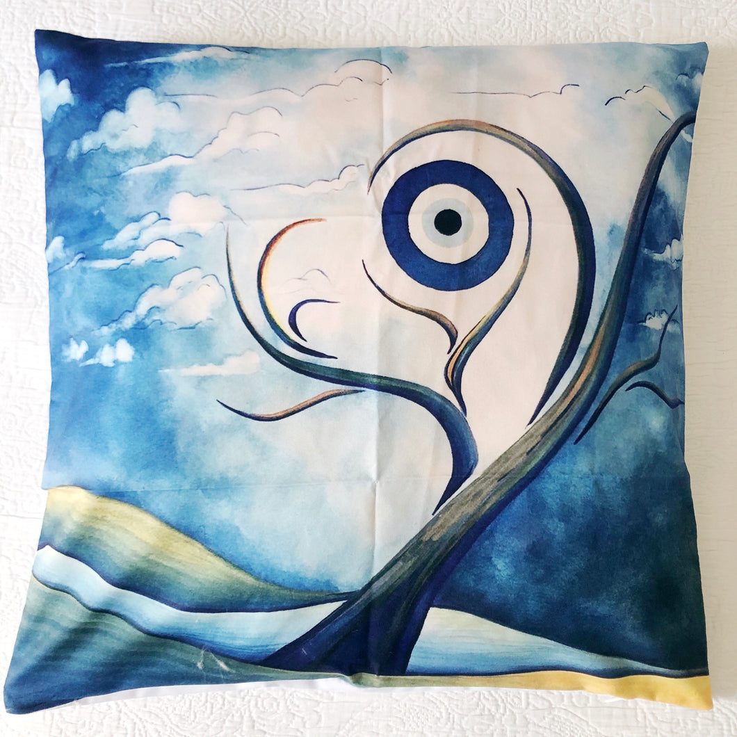 Evil Eye Painting Cushion Cover