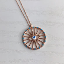 Load image into Gallery viewer, The Eye of Helios Necklace