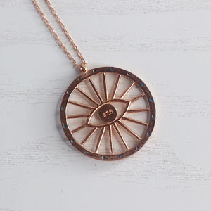 The Eye of Helios Necklace