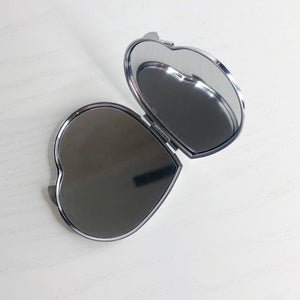 Evil Eye Heart Compact Mirror