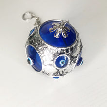 Load image into Gallery viewer, Evil Eye Glass Ball Bauble