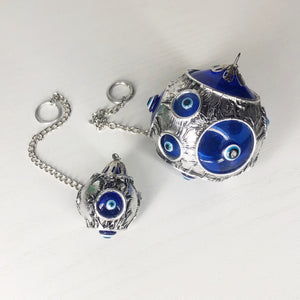 Evil Eye Glass Ball Bauble