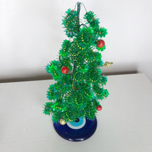Load image into Gallery viewer, Evil Eye Mini Christmas Tree