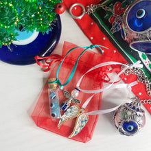 Load image into Gallery viewer, Christmas Evil Eye Mini Decorations