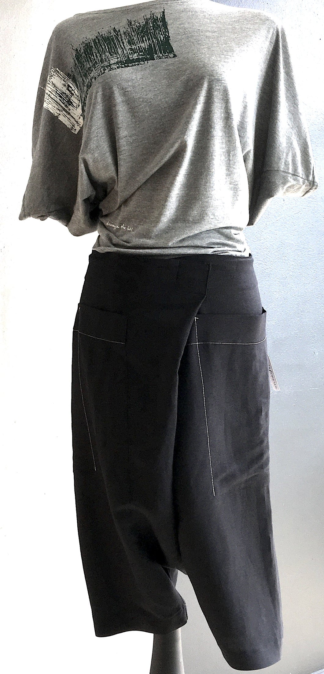 FOLD-OVER PANT-SHORT