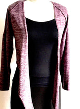 Load image into Gallery viewer, BO TIE CARDIGAN-MAUVE