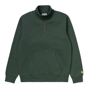Carhartt WIP Chase Neck Zip Sweatshirt - Goldjunge-Store