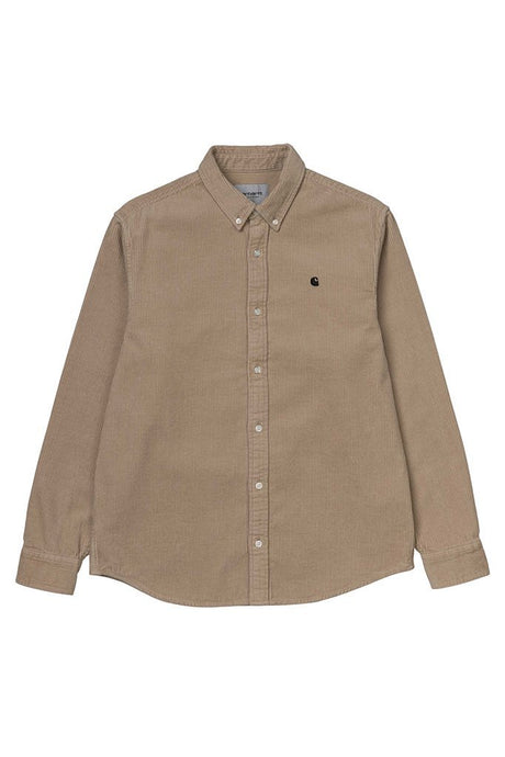 Carhartt WIP L/S Madison Cord Shirt - Goldjunge-Store