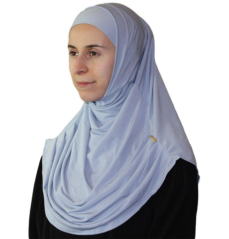 Firdevs Practical Scarf & Bonnet 020 Grey