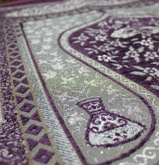 Turkish Luxury Thin Embroidered Payer Mat