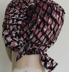 Firdevs Practical Hijab 2 piece al amirah pink lattice