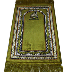 Islamic Prayer Rug Child Size Baby Green Mosque