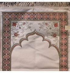 Luxury Gift Box Genova Prayer Mat Simple Ivory Embroidered