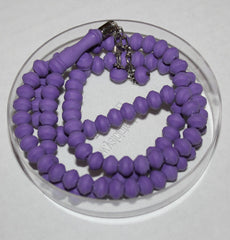 Purple Rose Scented Gul Kokulu Muslim Pray Beads Rosary