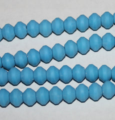 Rose Scented Tasbih Acrylic Prayer Beads Turquoise Blue