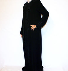 Islamic Women Jilbab Abaya Turkish Ferace Black