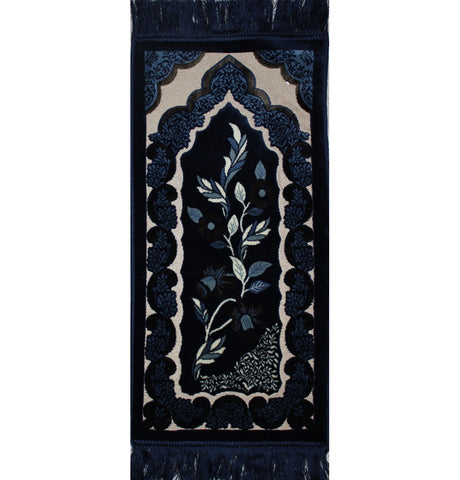 Child Velvet Islamic Prayer Rug Mat Small