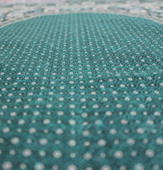 Turkish Muslim Pray Mat Thin Woven Green