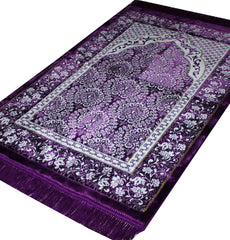 Plush Ipek Prayer Rug Purple 21252