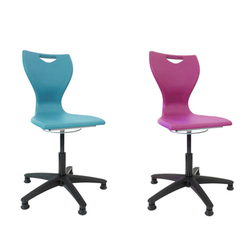 Mbob media and computer chair. Perfect for homeschooling, home desk office chair, height adjustable chair office, computer chair, computer chair with wheels, IT chair.