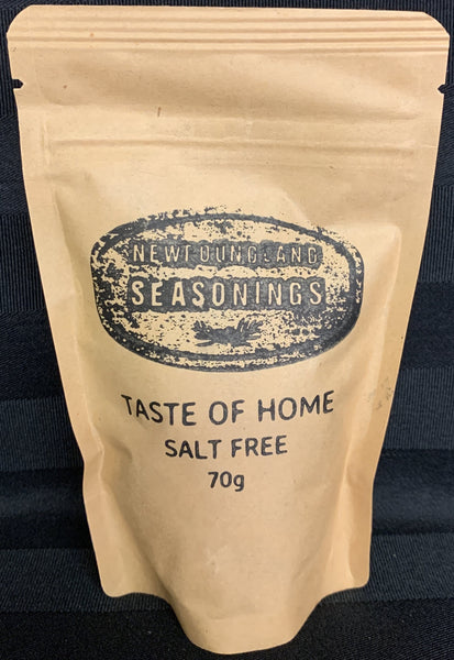 Taste of Home - Salt Free Spice Blend 100g