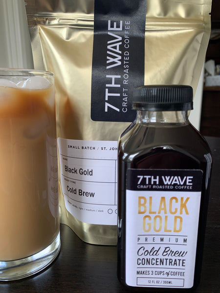 12oz Black Gold Cold Brew Concentrate