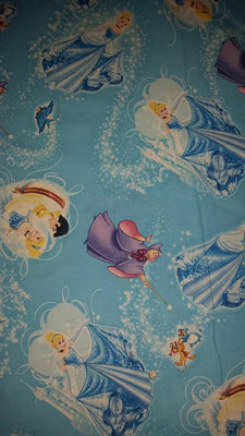Disney Cinderella Cotton Fabric - I'm A Craftaholic