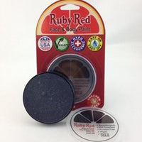 Professional Vegan Ruby Red Face Paint- Charcoal
