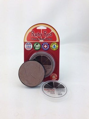 Professional Vegan Ruby Red Face Paint - Beige