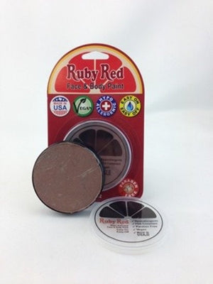 Professional Vegan Ruby Red Face Paint - Cocoa