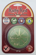 Professional Vegan Ruby Red Face Paint - Glow in the Dark